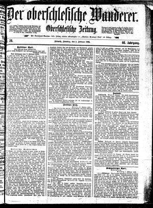 ˜Derœ Oberschlesische Wanderer vom 02.02.1896