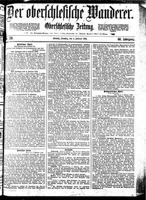 ˜Derœ Oberschlesische Wanderer vom 04.02.1896