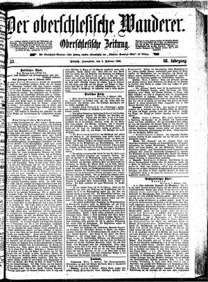 ˜Derœ Oberschlesische Wanderer vom 08.02.1896