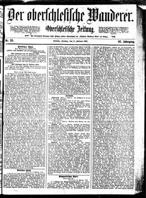 ˜Derœ Oberschlesische Wanderer vom 11.02.1896