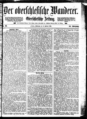 ˜Derœ Oberschlesische Wanderer vom 12.02.1896