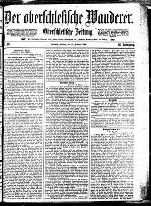 ˜Derœ Oberschlesische Wanderer vom 14.02.1896