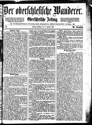 ˜Derœ Oberschlesische Wanderer vom 18.02.1896