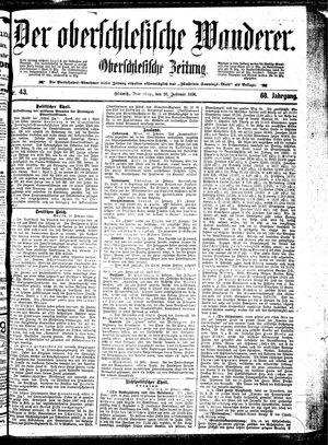 ˜Derœ Oberschlesische Wanderer on Feb 20, 1896