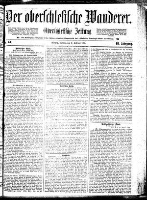˜Derœ Oberschlesische Wanderer vom 21.02.1896