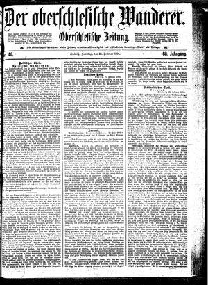 ˜Derœ Oberschlesische Wanderer on Feb 23, 1896