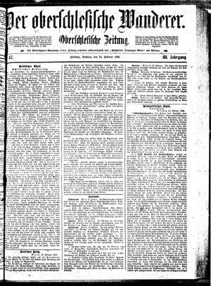 ˜Derœ Oberschlesische Wanderer vom 25.02.1896