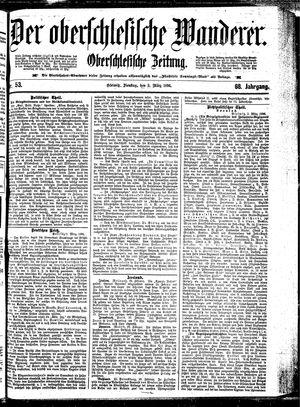 ˜Derœ Oberschlesische Wanderer vom 03.03.1896