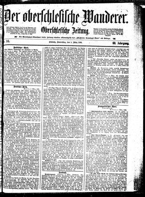 ˜Derœ Oberschlesische Wanderer vom 05.03.1896