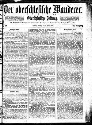 ˜Derœ Oberschlesische Wanderer vom 10.03.1896