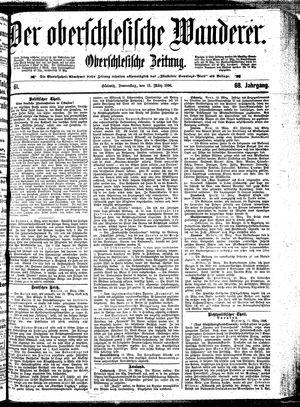 ˜Derœ Oberschlesische Wanderer vom 12.03.1896