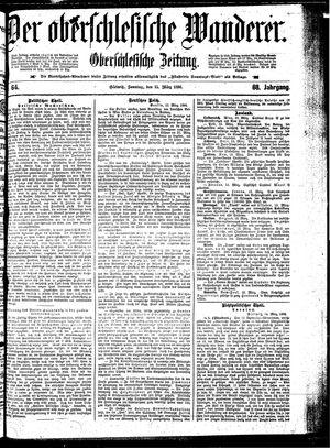 ˜Derœ Oberschlesische Wanderer vom 15.03.1896