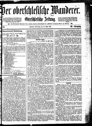 ˜Derœ Oberschlesische Wanderer vom 19.03.1896
