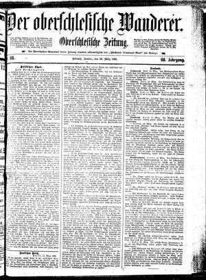 ˜Derœ Oberschlesische Wanderer vom 20.03.1896