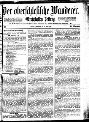 ˜Derœ Oberschlesische Wanderer vom 21.03.1896