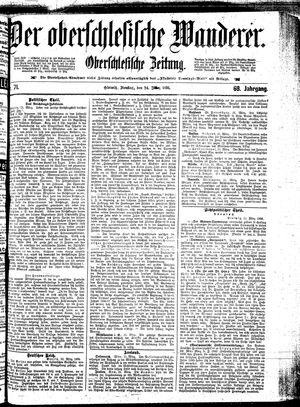 ˜Derœ Oberschlesische Wanderer vom 24.03.1896