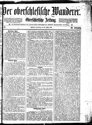 ˜Derœ Oberschlesische Wanderer vom 26.03.1896