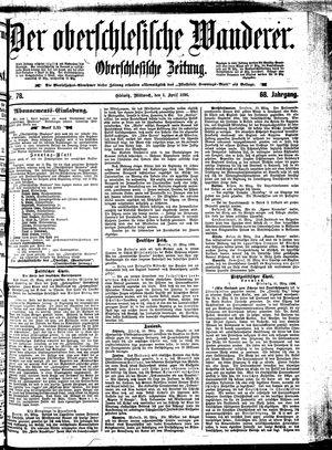 ˜Derœ Oberschlesische Wanderer on Apr 1, 1896