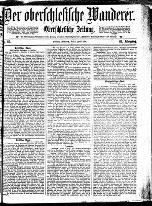 ˜Derœ Oberschlesische Wanderer vom 08.04.1896