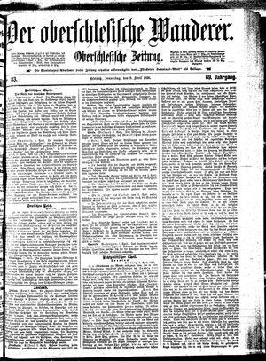 ˜Derœ Oberschlesische Wanderer vom 09.04.1896