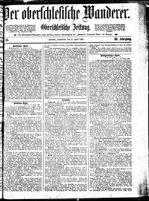 ˜Derœ Oberschlesische Wanderer vom 11.04.1896