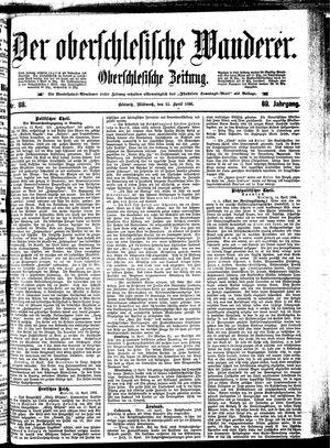 ˜Derœ Oberschlesische Wanderer vom 15.04.1896