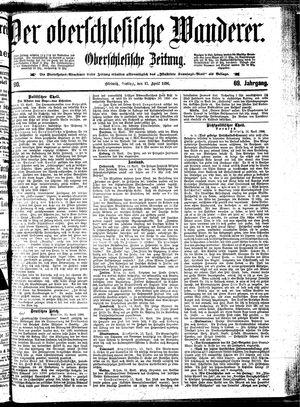 ˜Derœ Oberschlesische Wanderer vom 17.04.1896