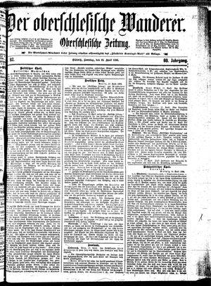 ˜Derœ Oberschlesische Wanderer vom 19.04.1896