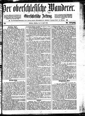 ˜Derœ Oberschlesische Wanderer vom 21.04.1896