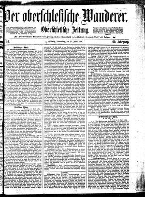 ˜Derœ Oberschlesische Wanderer vom 23.04.1896