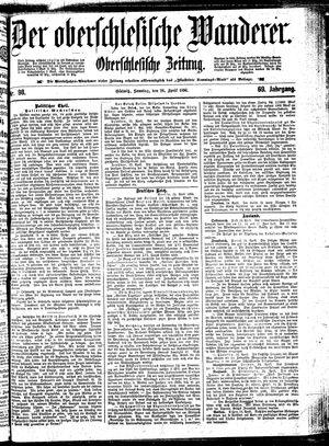 ˜Derœ Oberschlesische Wanderer vom 26.04.1896