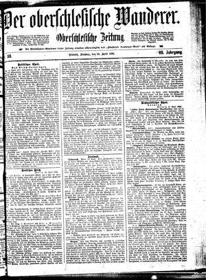 ˜Derœ Oberschlesische Wanderer vom 28.04.1896