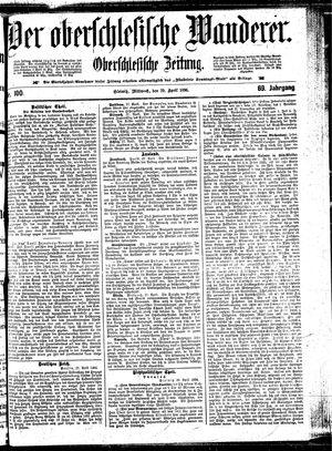 ˜Derœ Oberschlesische Wanderer vom 29.04.1896