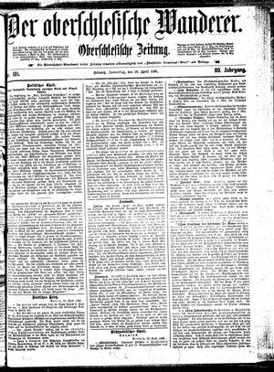 ˜Derœ Oberschlesische Wanderer vom 30.04.1896