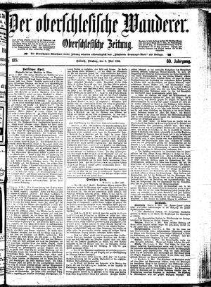 ˜Derœ Oberschlesische Wanderer vom 05.05.1896