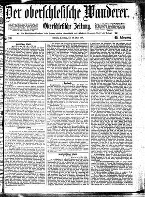 ˜Derœ Oberschlesische Wanderer vom 10.05.1896