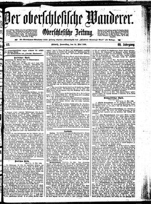 ˜Derœ Oberschlesische Wanderer vom 14.05.1896