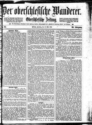 ˜Derœ Oberschlesische Wanderer vom 17.05.1896
