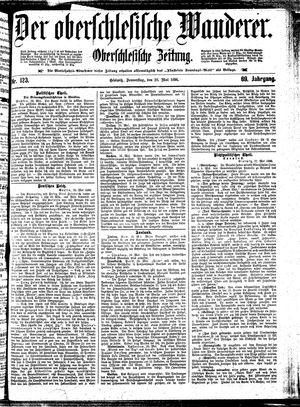 ˜Derœ Oberschlesische Wanderer vom 28.05.1896