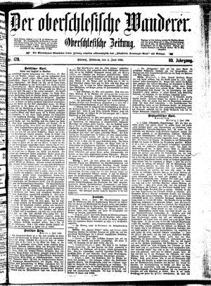 ˜Derœ Oberschlesische Wanderer vom 03.06.1896