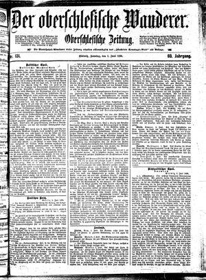 ˜Derœ Oberschlesische Wanderer vom 07.06.1896