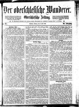 ˜Derœ Oberschlesische Wanderer vom 09.06.1896