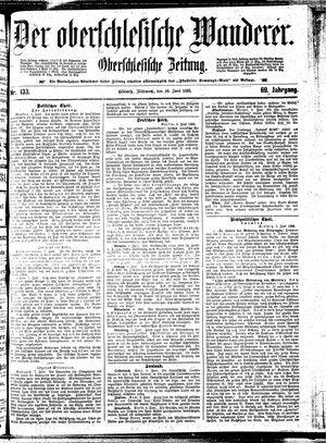 ˜Derœ Oberschlesische Wanderer vom 10.06.1896