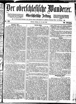 ˜Derœ Oberschlesische Wanderer vom 16.06.1896