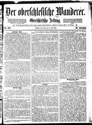 ˜Derœ Oberschlesische Wanderer vom 18.06.1896