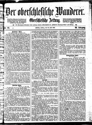 ˜Derœ Oberschlesische Wanderer vom 19.06.1896