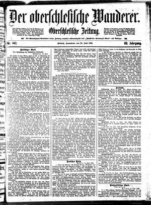 ˜Derœ Oberschlesische Wanderer vom 20.06.1896