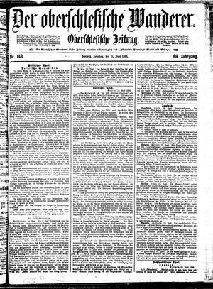 ˜Derœ Oberschlesische Wanderer vom 21.06.1896