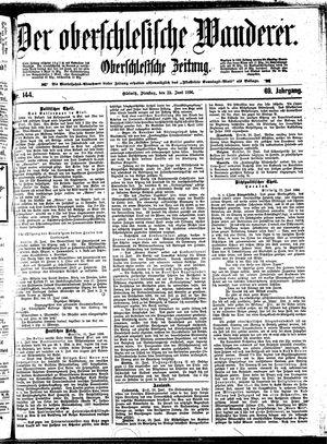 ˜Derœ Oberschlesische Wanderer vom 23.06.1896