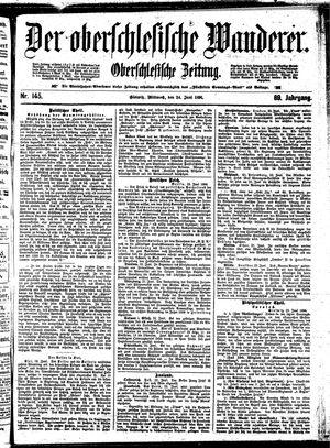 ˜Derœ Oberschlesische Wanderer vom 24.06.1896